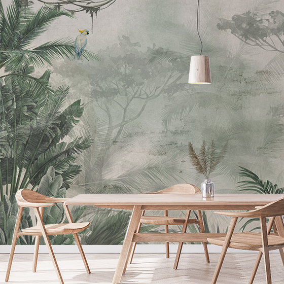 Crea Decora Recicla Papel Pared Ambiente Mural Jungla